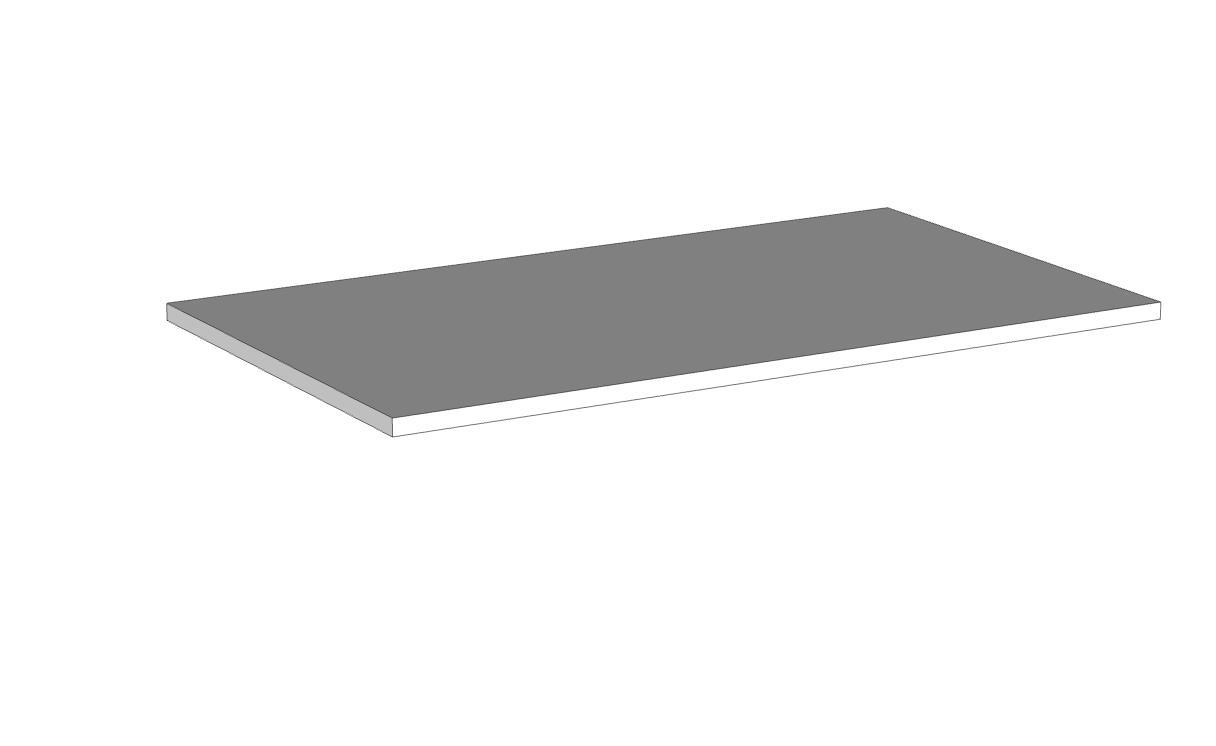 Ripiano interno per modulo ponte/soppalco 2 ante