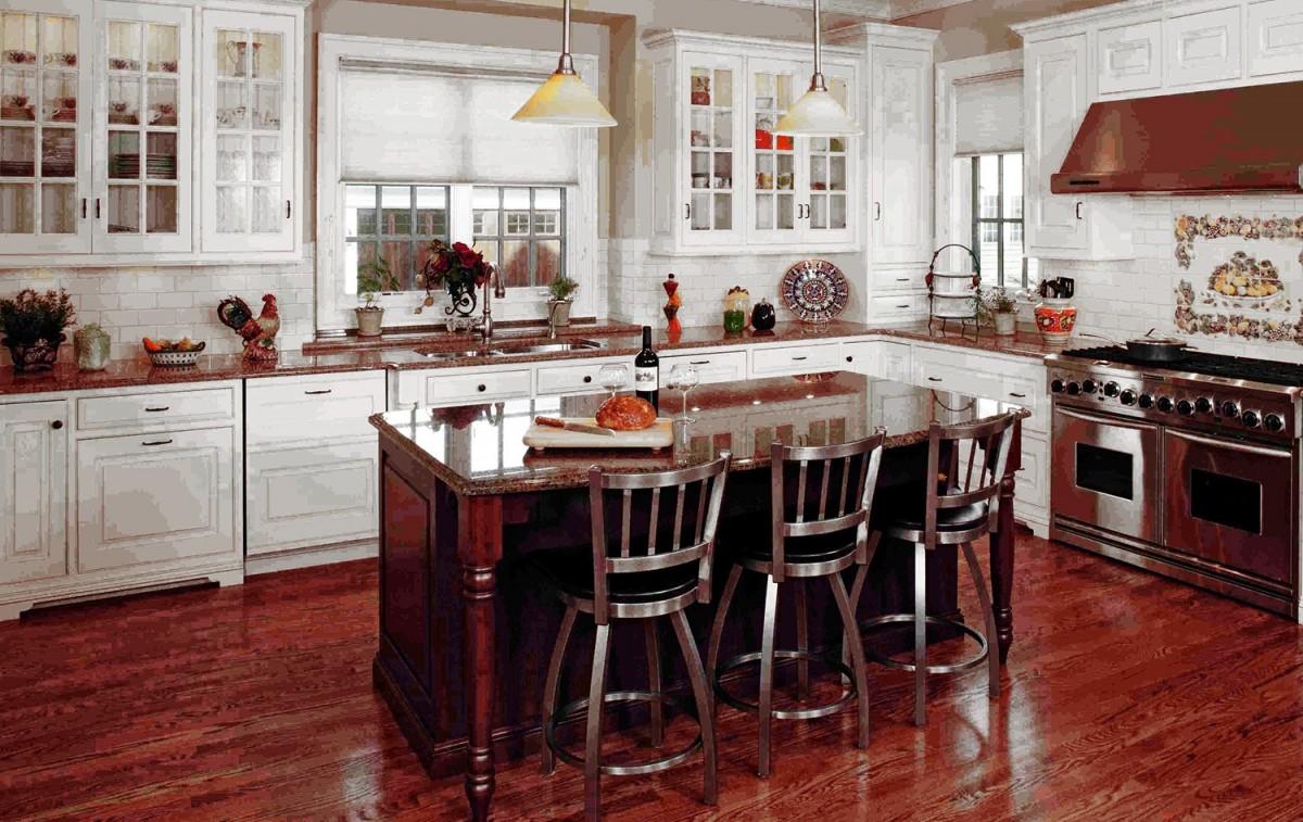 La giusta disposizione del mobilio in cucina