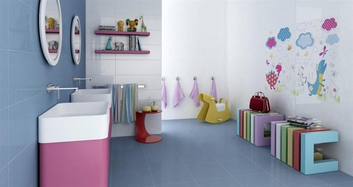 Bagno per bambini spazio da valorizzare - Accessori per camerette ragazze ...