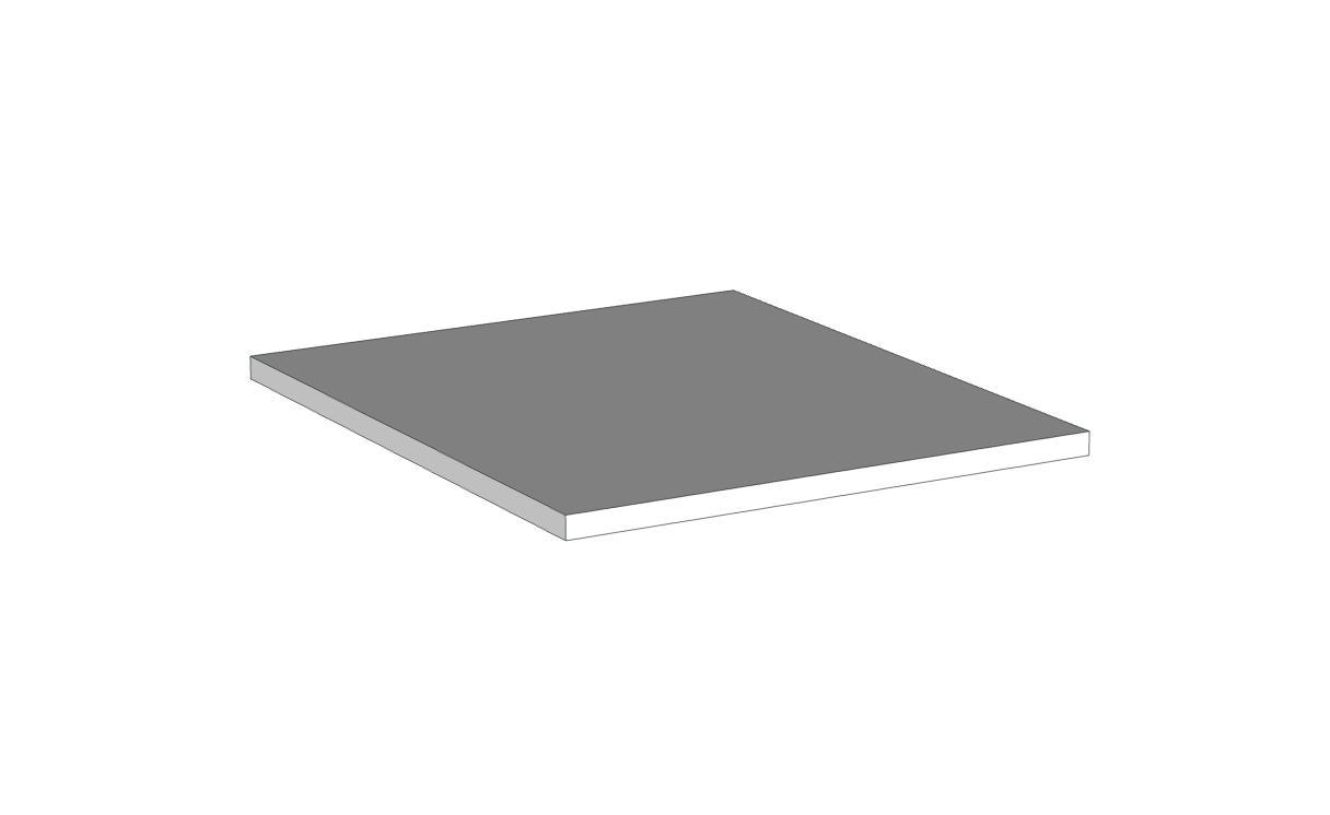 Ripiano interno per modulo 1 anta (Colore struttura)