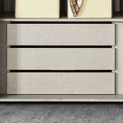 cassettiera interna per armadio semplice-crazy colore grigio- tessuto